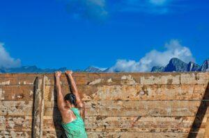 runner, obstacle, run